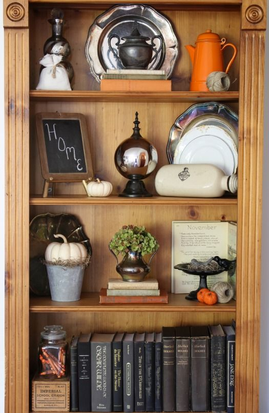 17 Best Images About Styling Bookshelves / Bookcases.. Not