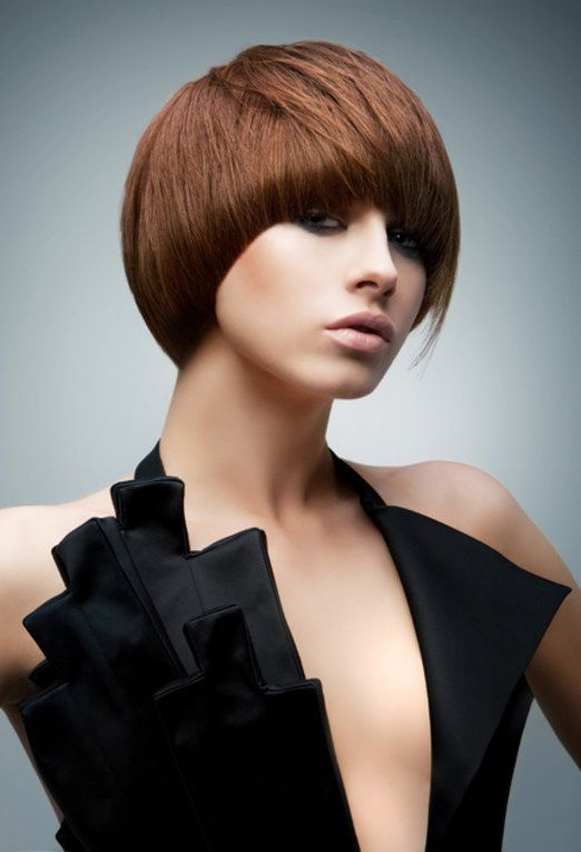 Short hair styles: hairstyle and haircut ideas for short hair by Jasmine Redstone
