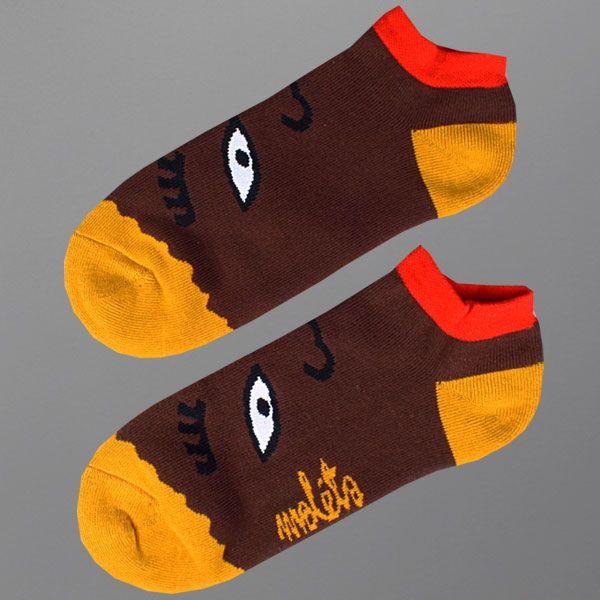 Skarpetki Malita Brownie    - skarpetki MALITA   - sportowe z bawełny czesanej, z dodatkiem włókna elastanowego i poliamidowego   - z płaskim szwem i podwójnym ściągaczem   - idealne na lato