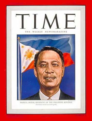 president manuel roxas essay Manuel roxas was elected in 1946 as the first president of the republic of the philippines and is credited with bringing the nation out of post-war economic and social destitution roxas established himself as a prominent political leader, instituting several key political and economic policies.