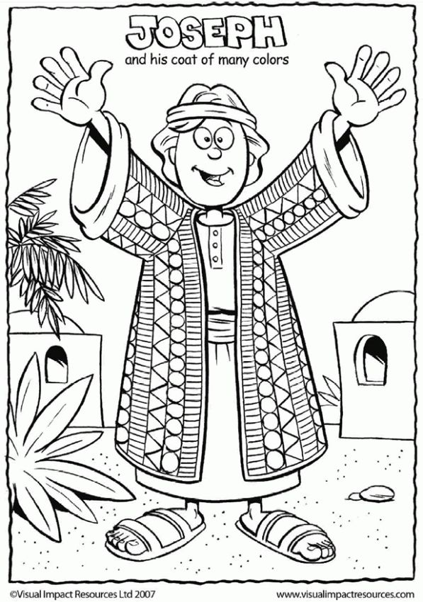 Coloring Pages For Joseph&