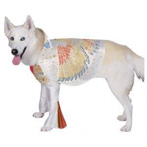 Déguisement Elvis Presley pour chien taille XL, licence officielle Elvis Presley, fêtes, costume pet's, costume dog.