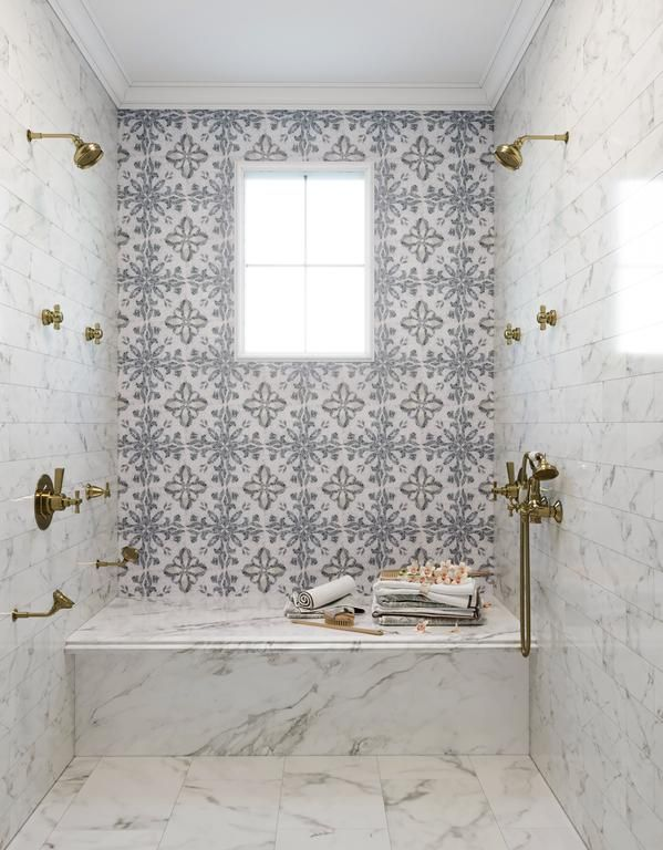 Bloom Micro Mosaic Tile In 2021 Patterned Bathroom Tiles Amazing Bathrooms Shower Tile Bathroom tile over wallpaper