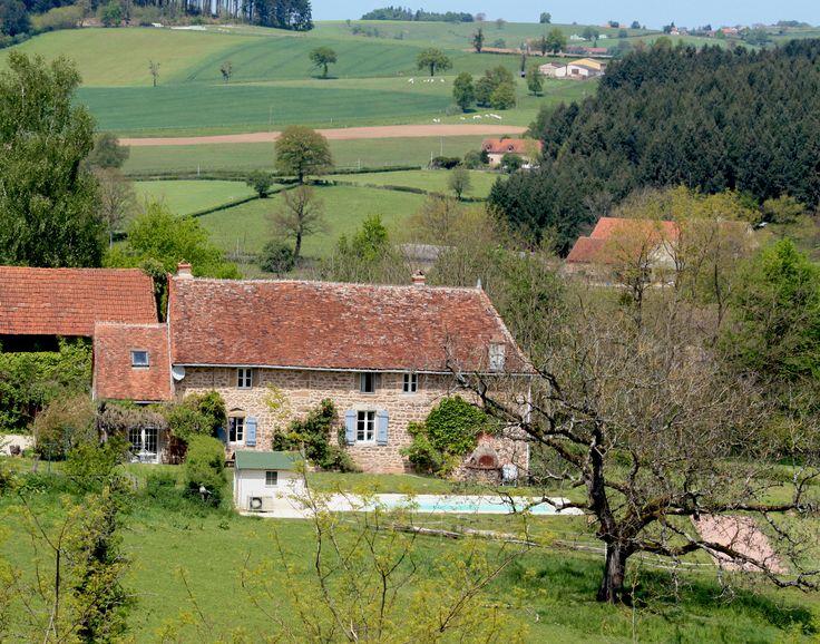 Vakantiehuisjes in de Bourgogne