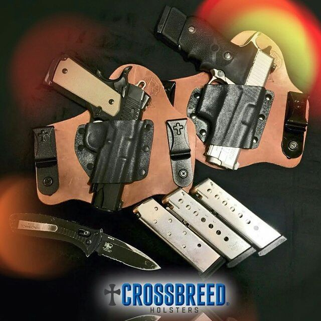 #Repost @crossbreedholsters  #crossbreed #crossbreedholsters #hybridholster #kydex #kydexholster #glock #1911 #smithandwesson #sw #hk #9mm #45acp #10mm #ar15 #ccw #cpl #concealedcarry #2a #pro2a #gunporn #igmilitia #handgun #gun #pistol by holstervault