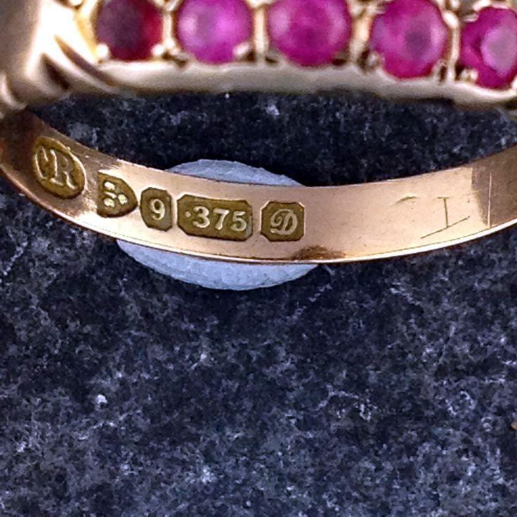 Chester 9ct Gold 1904 Cartier Love Bracelet Love