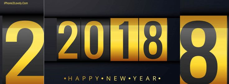 2018 FB Timeline Covers Happy New Year