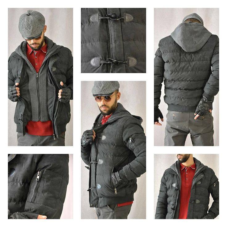 Ανδρικό μπουφάν καπιτονέ με τύπωμα και κουκούλα φούτερ,ιδανικό για εμφανίσεις με στυλ!!!!! Διαθέσιμο σε 2 χρώματα: Γκρι και Χακί. #metal_deluxe #men_clothes #men_jacket #winter_clothes #winter_jacket #new_arrivals #style #man #fashion #be_in_fashion