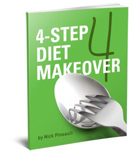 """""""Fixing"""" your fat loss nutrition isn't just about having the right knowledge. Just think about it. You probably knowabout which better food choices you should make. But many times you simply don't because life gets in the way. The 4 Step Diet Makeover will end your frustration and teach you exactly how tocreate a consistent, fat-burning environment in your life 24 hours a day, 7 days of the week."""