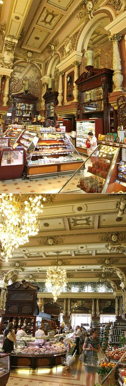 Moscow grocery store for the eye!