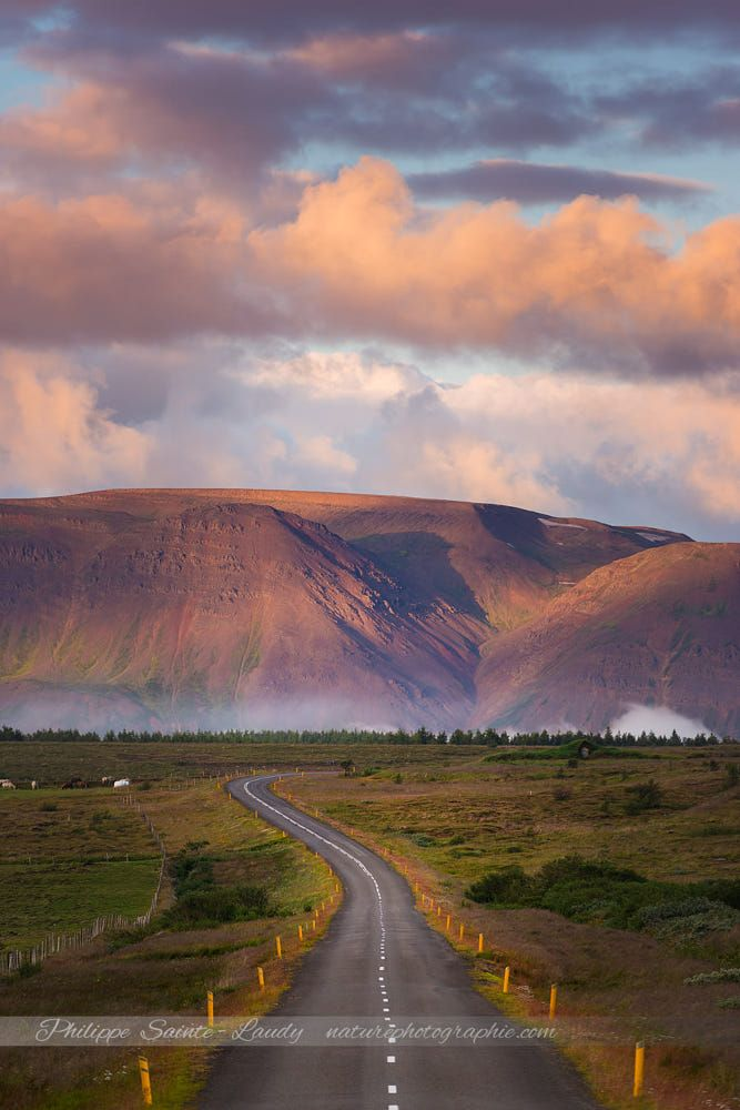 Country road (Iceland) by Philippe Sainte-Laudy on 500px
