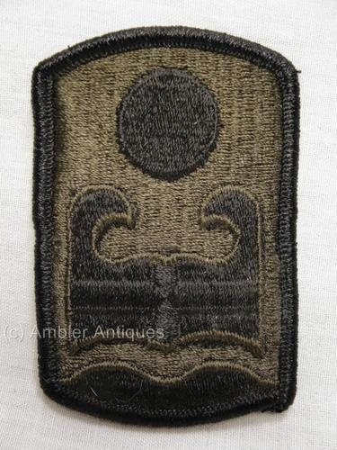US Army 92nd Infantry Brigade Subdued Patch New / Unissued   eBay
