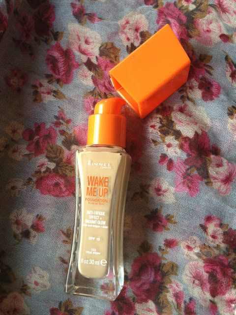 This one is so good for people with light skin like me.. My daily foundation!! :D Rimmel Wake Me Up Foundation Review