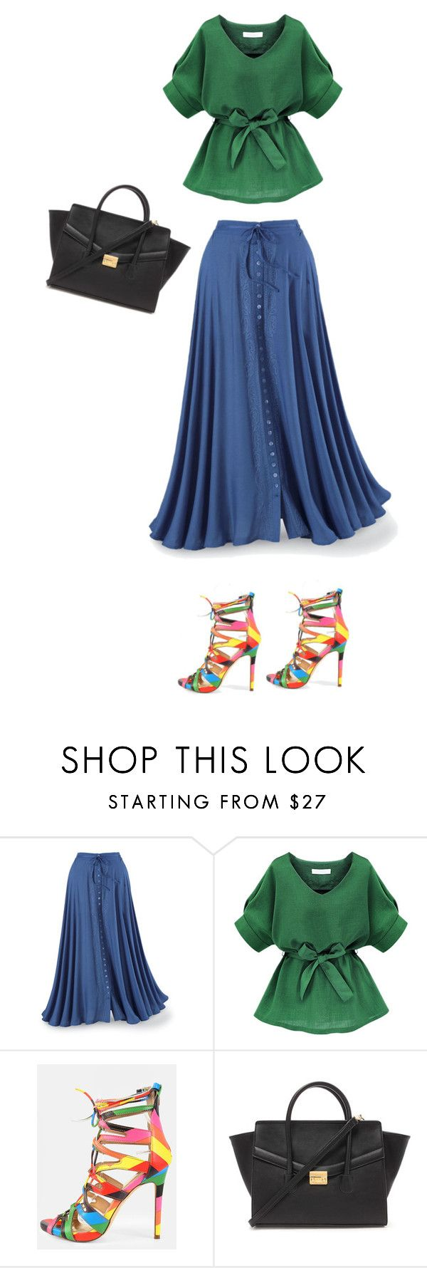 """""""Untitled #354"""" by theclothesmind on Polyvore featuring Forever 21"""