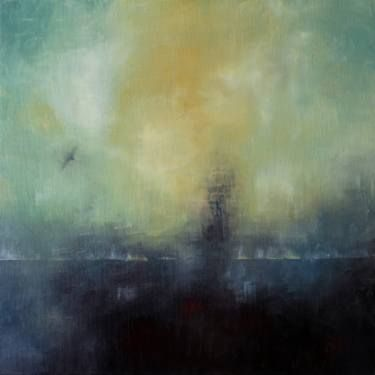 In the Fog by Eugene Ivanov, oil on canvas, 50 X 50 cm, $960. #eugeneivanov #@eugene_1_ivanov #modern #original #oil #watercolor #painting #sale #art_for_sale #original_art_for_sale #modern_art_for_sale #canvas_art_for_sale #art_for_sale_artworks #art_for_sale_water_colors #art_for_sale_artist #art_for_sale_eugene_ivanov #abstract