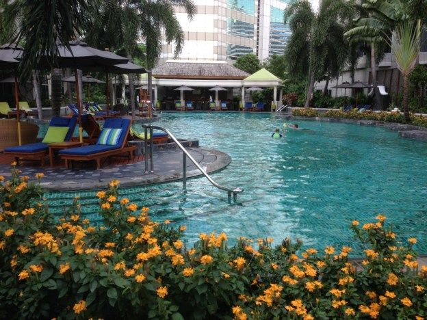 Hotel review of our stay at the Conrad Bangkok in Thailand