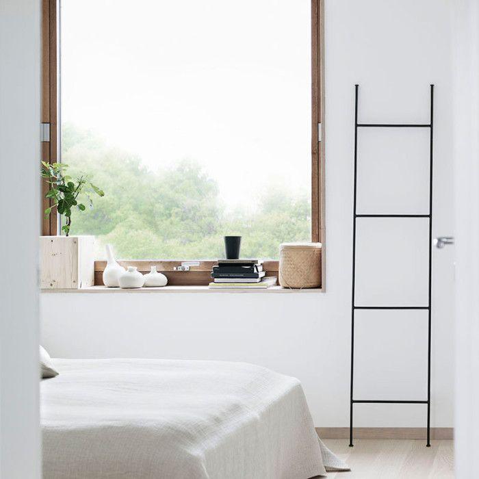 Ložnice ve skandinávském stylu