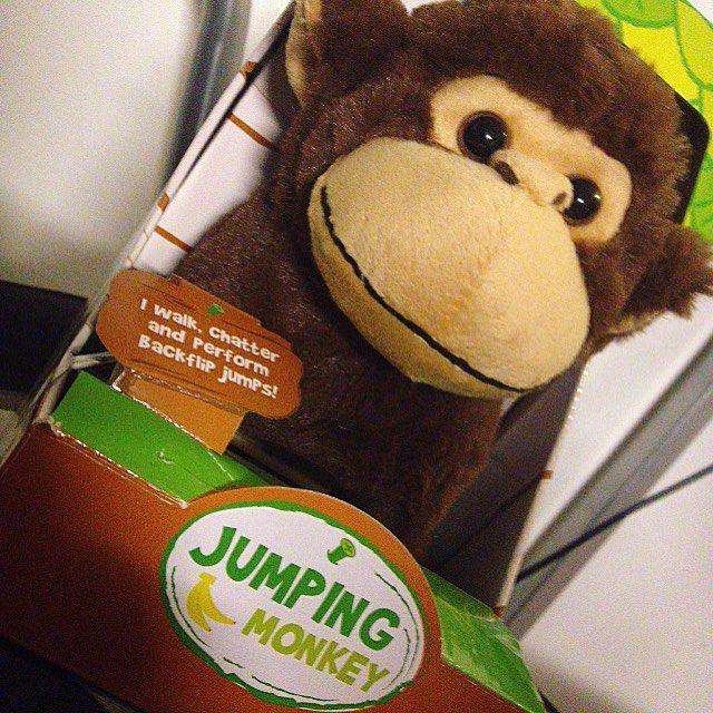 Bought this today, I just had to!  #monkey #monkeys #toys #toy #fun #plushie #plushies #toystagram #cute #cuteness #happiness #monkeysofinstagram #instagood #instaphoto #instapic #söpö #apina #f4f #lelut #pehmolelut #materia #adorable #b