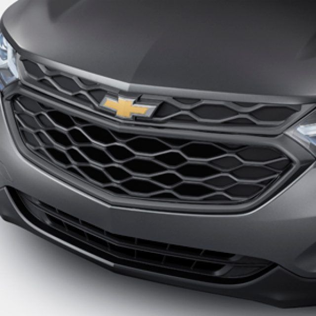 Grille In Mosaic Black With Bowtie Logo Chevrolet Equinox
