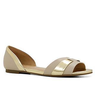 DONADA | Aldo - Effortlessly chic, easy way to comfortably dress up any outfit.  Loving the metallic details!