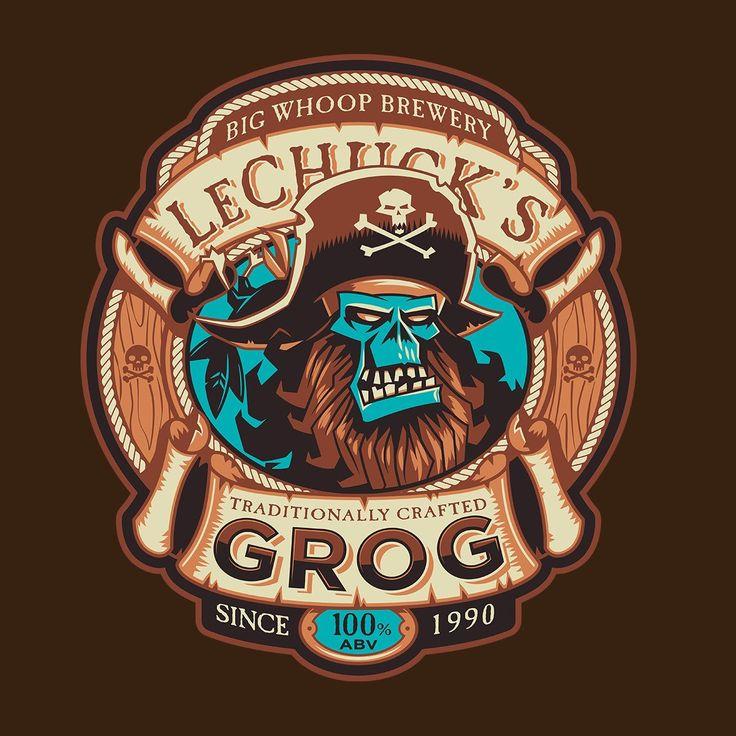 Ghost Pirate Grog Monkey Island Lechuck