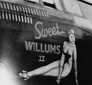 Nose art of A-20 Sweet Willums II | by International Historical Research Associates