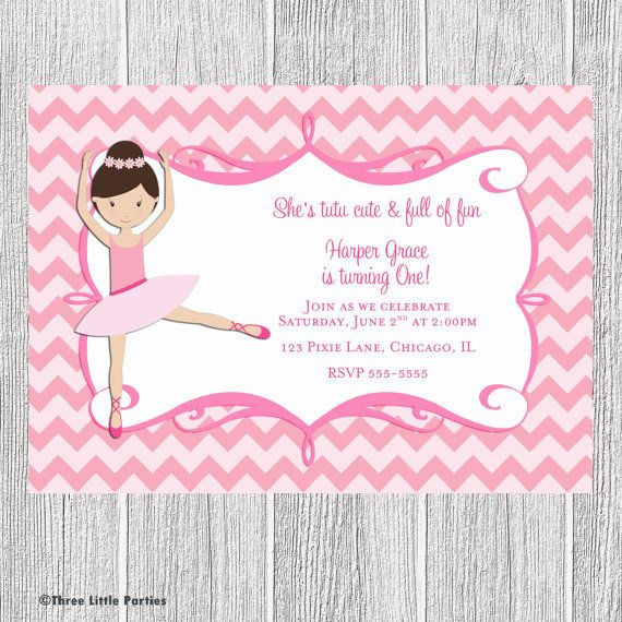 Tutu cute printable ballerina invitation by for Pin the tutu on the ballerina template