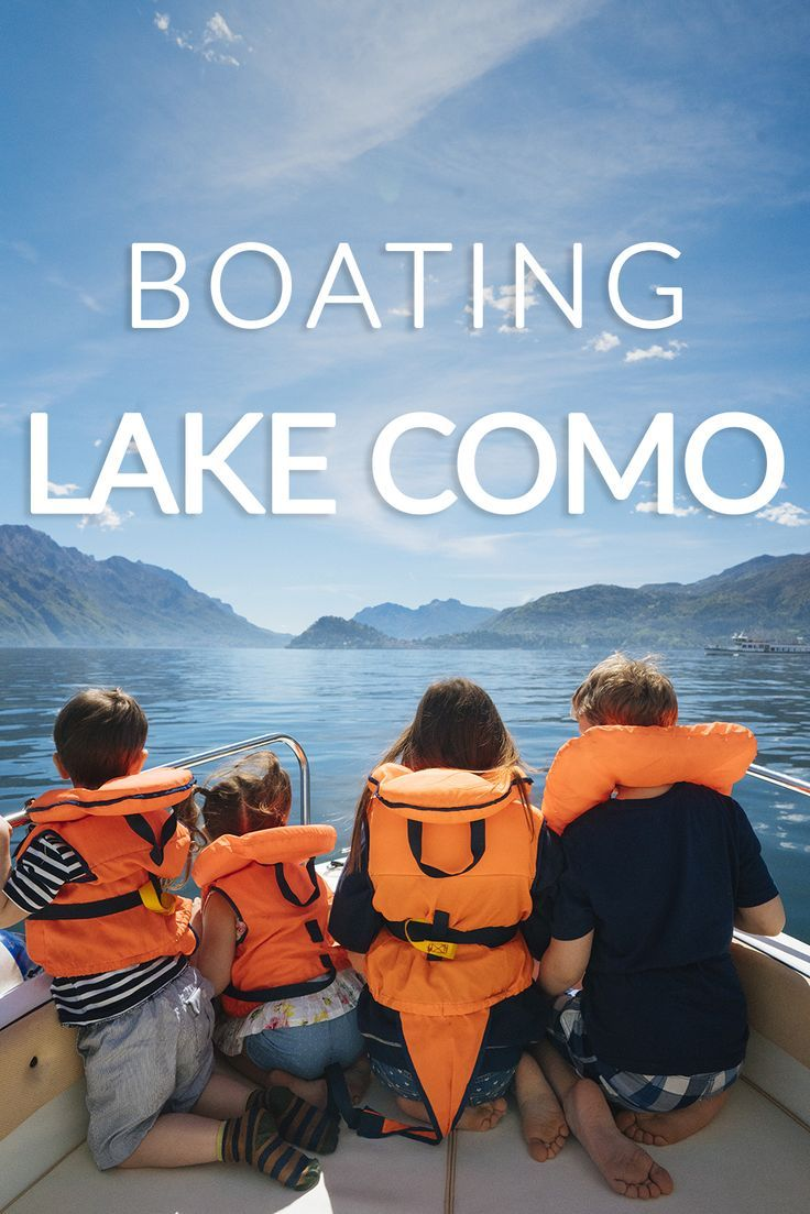 Learn the basics of boating on Lake Como, Italy