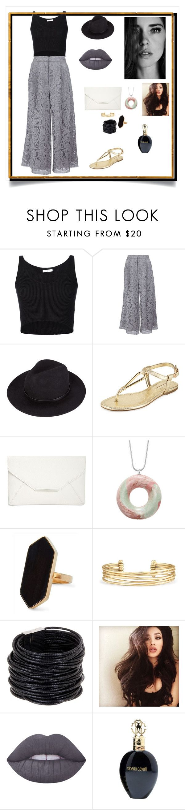 """Untitled #229"" by khadijaer ❤ liked on Polyvore featuring 321, ADAM, BCBGeneration, Style & Co., Jaeger, Stella & Dot, Saachi, Lime Crime and Roberto Cavalli"