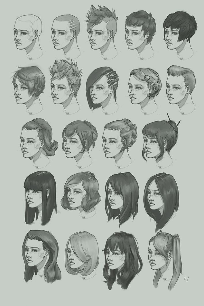 Hairstyle Drawing Reference Male In 2020 How To Draw Hair Short Hair Drawing Hair Sketch