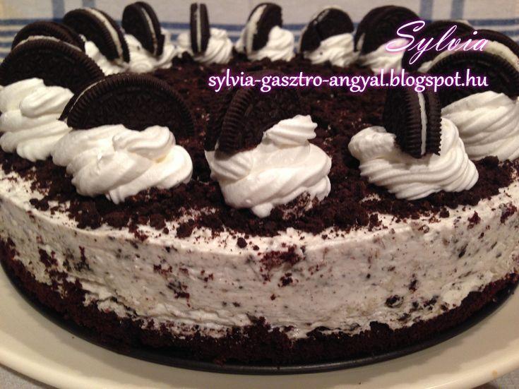 Oreo fanoknak muszáj kipróbálni! Ha szereted ezt az isteni kekszet (én imádom), akkor képzelj el egy egész tortát hasonló ízben! ...