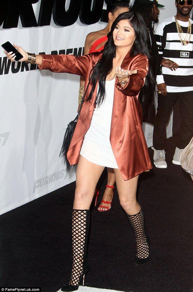 nice Kylie Jenner Furious  Premiere    Kombini