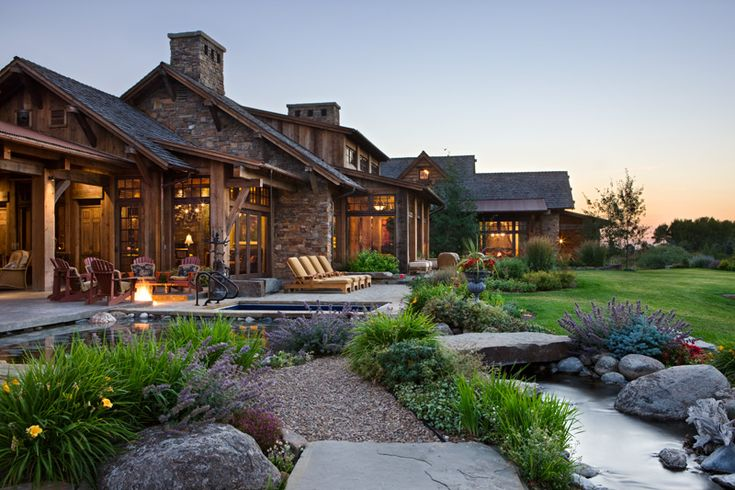 Close up view of patio with pool, hot tub, and fire pit. Builder: Schlauch Bottcher Construction Interior Design: Locati Interiors Photography: © Roger Wade Studio