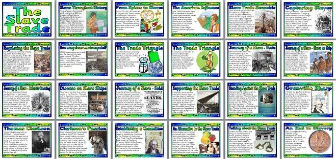 Classroom Display Ideas Ks4 ~ Ks history teaching resource slave trade