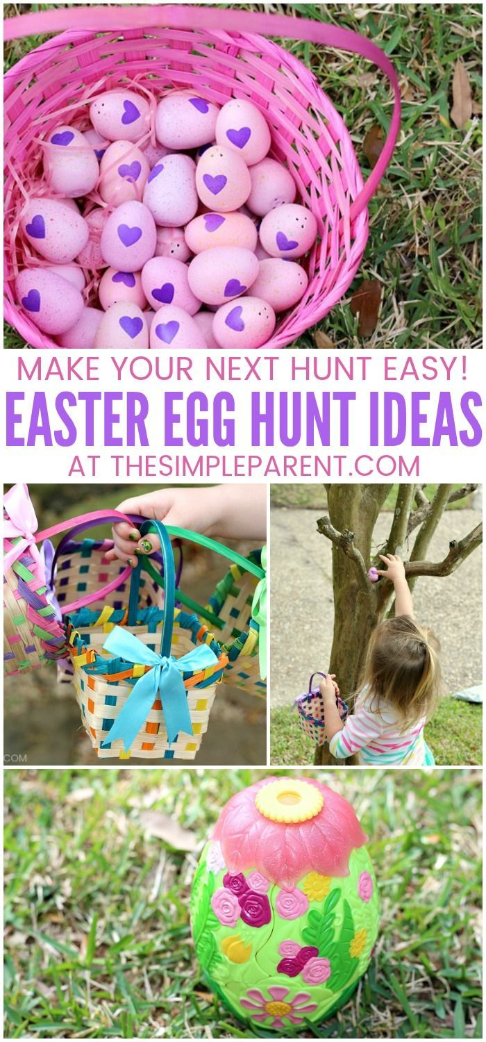 5 easter egg hunt ideas for an easy & memorable hunt! | easy easter