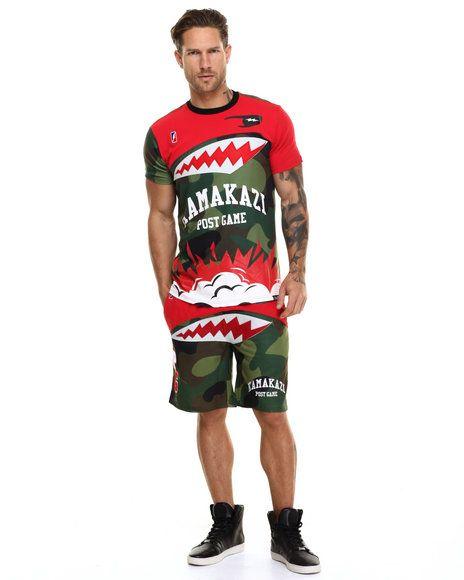 Post Game - Kamakazi Camo Basketball Shorts