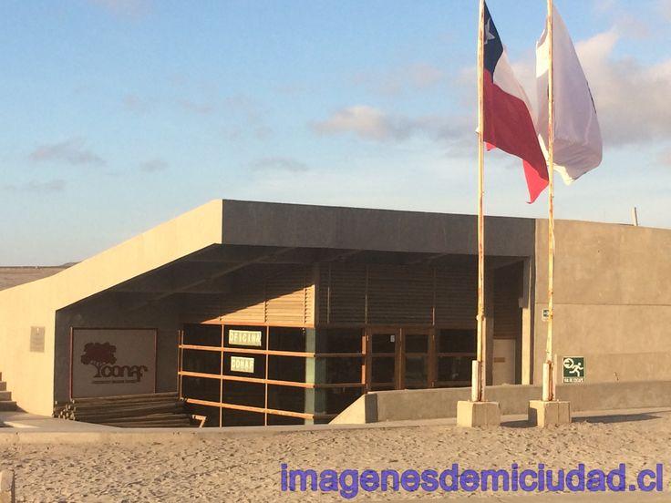Oficina de Conaf sector La Portada de Antofagasta