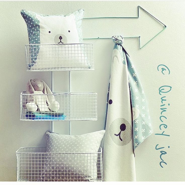 #junior #polarbear #mint #wallbaskets #arrowhook #gifts #homedecor #quinceyjac