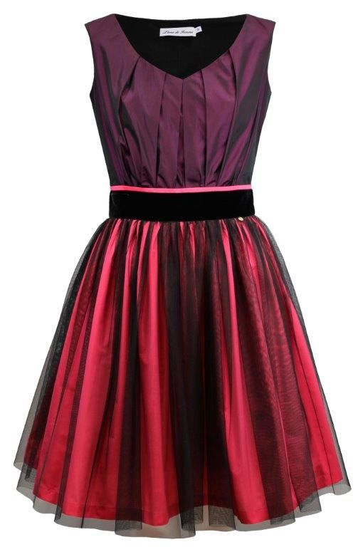 there is also burgundy color dress in our FW collection