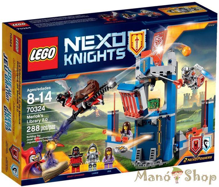 Lego Nexo Knights Merlok Könyvtára 2.0 70324