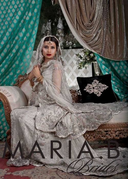 Latest Bridal Attire Assortment By Maria B 2015-2016 (6)