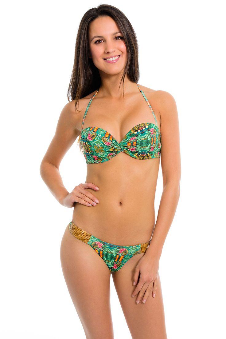 Bikini A Fascia Tucano Bandeau - Hy Brasil - Brazilian Bikini Shop #brazilianbikinishop #BBSFashion #bikiniafascia #hybrasil