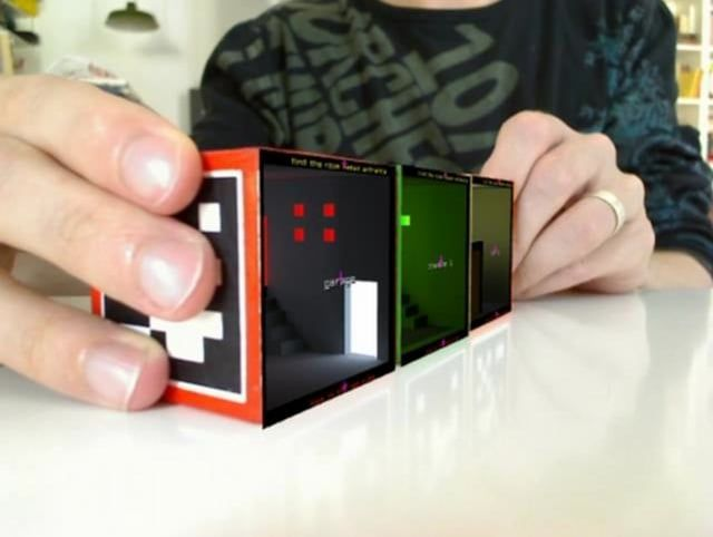As yet unseen footage of the first stable version of levelHead, an augmented-reality spatial-memory game by Julian Oliver.   Warning! This is a spoiler for the first 3 cubes: the easy Red Cube, the tricky Green Cube and the ridiculously difficult Orange Cube.  NB: This footage was captured using desktop screencapture software. This reduced the performance of the game a bit.  You can read more about levelHead and how it works here: http://julianoliver.com/levelhead