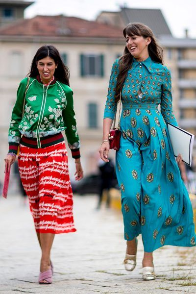 Milan Fashion Week Spring 2017 Street Style Street Style Pinterest