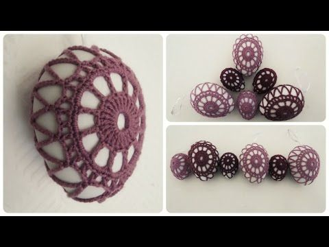 Osterei umhäkeln * DIY * Crochet Ester Egg [eng sub], My Crafts and DIY Projects