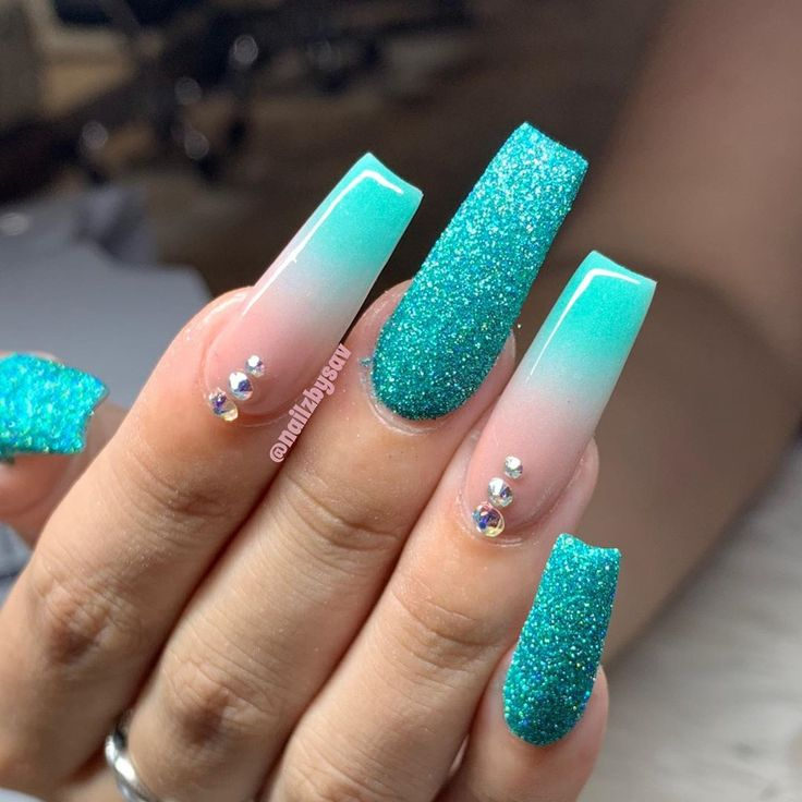 "Savannah (Savie) on Instagram: ""RAWWWWWWR xD #swarovskicrystals #glitternails … – nails"