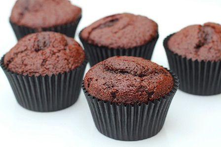 Chokolade cupcakes med Ultimate chocolate frosting