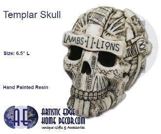 Knights Templar Skull