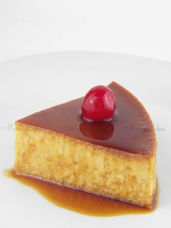Receta de Flan infalible, Mari's Cakes recetas de postres dominicanos.