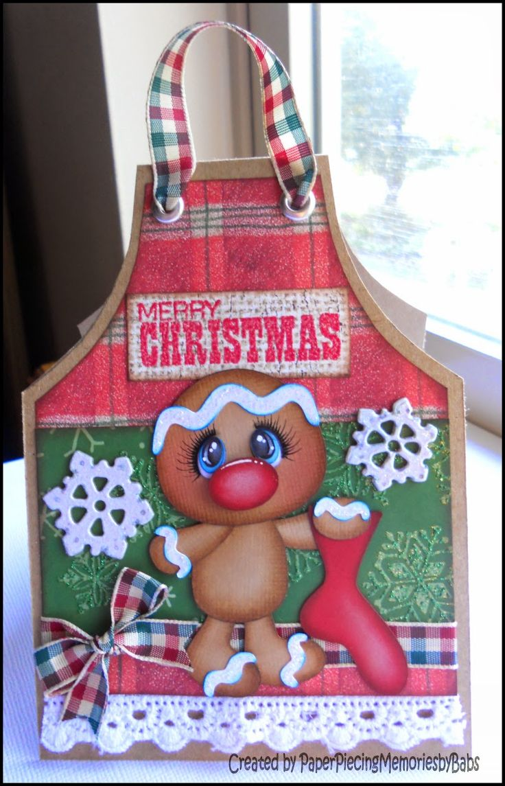 Christmas Greeting Card created by PAPER PIECING MEMORIES BY BABS
